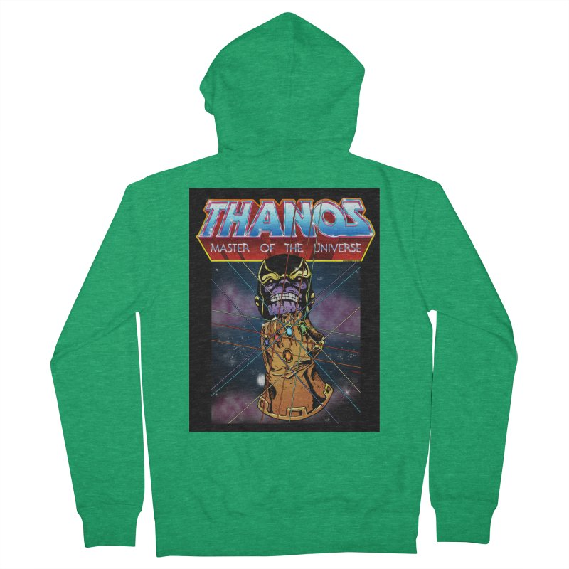Thanos master of the universe Women's Zip-Up Hoody by doombxny's Artist Shop