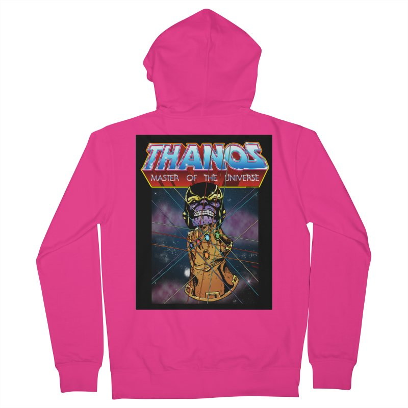 Thanos master of the universe Men's French Terry Zip-Up Hoody by doombxny's Artist Shop