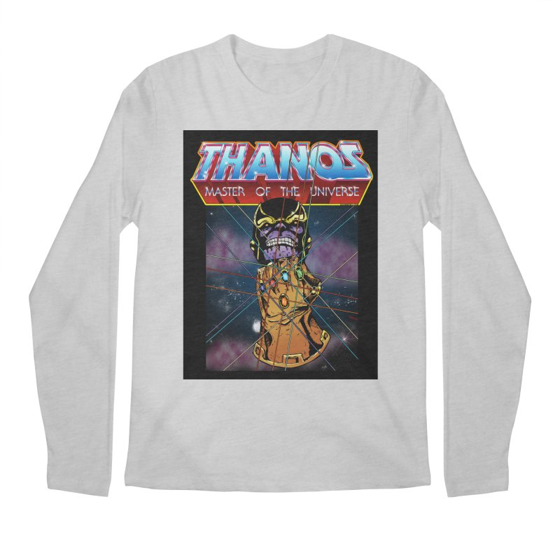 Thanos master of the universe Men's Regular Longsleeve T-Shirt by doombxny's Artist Shop