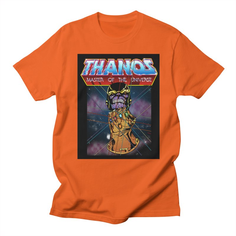 Thanos master of the universe Men's T-Shirt by doombxny's Artist Shop