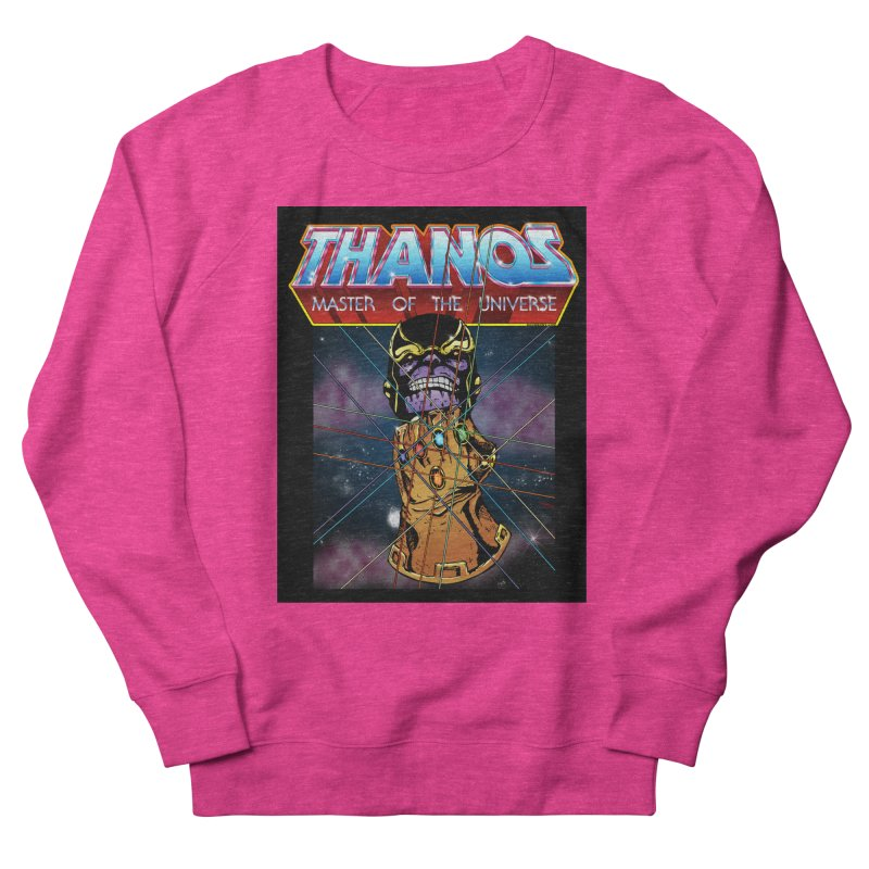 Thanos master of the universe Men's French Terry Sweatshirt by doombxny's Artist Shop