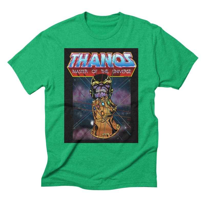 Thanos master of the universe Men's Triblend T-Shirt by doombxny's Artist Shop