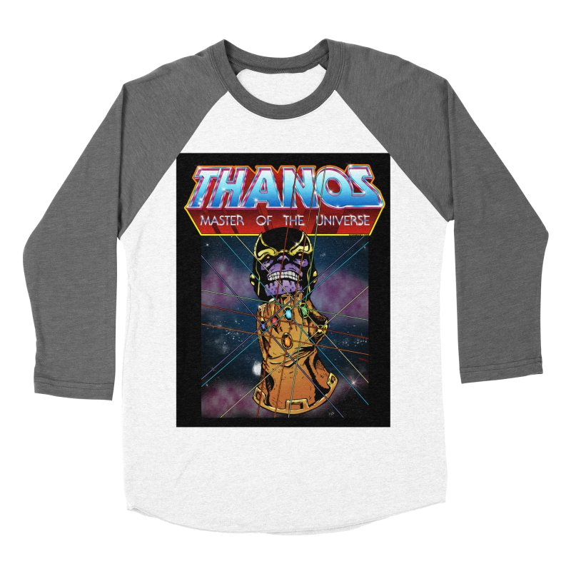 Thanos master of the universe Women's Baseball Triblend Longsleeve T-Shirt by doombxny's Artist Shop
