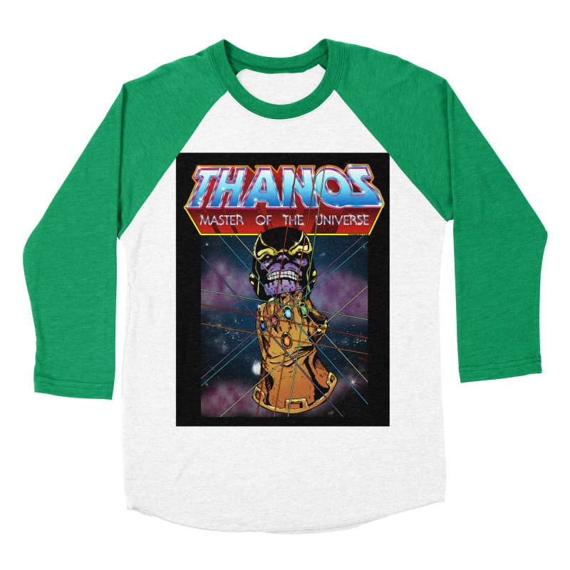 Thanos master of the universe Men's Baseball Triblend Longsleeve T-Shirt by doombxny's Artist Shop