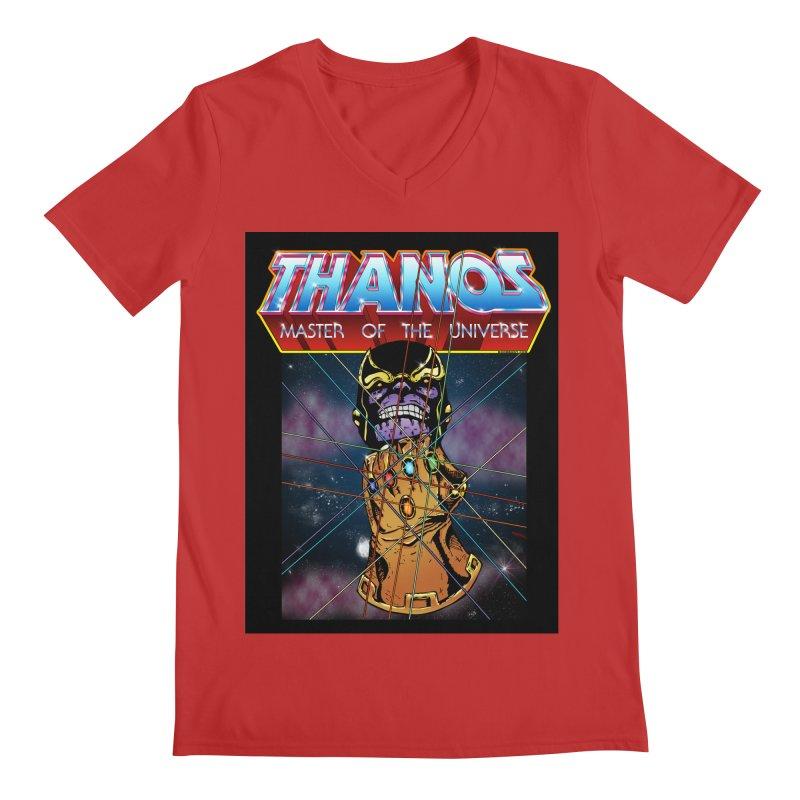 Thanos master of the universe Men's Regular V-Neck by doombxny's Artist Shop