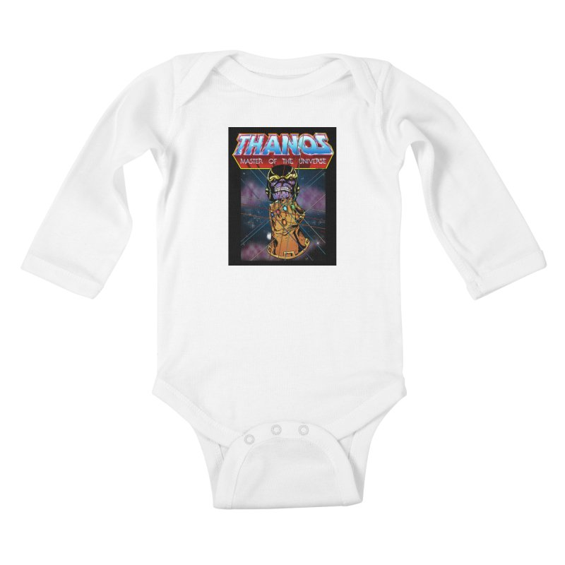Thanos master of the universe Kids Baby Longsleeve Bodysuit by doombxny's Artist Shop