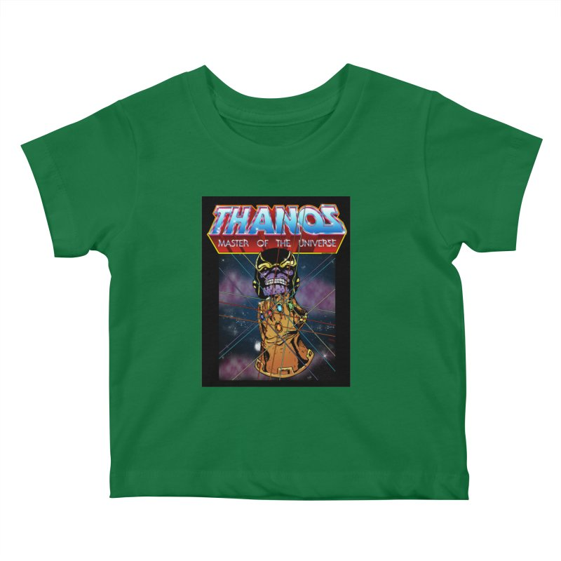 Thanos master of the universe Kids Baby T-Shirt by doombxny's Artist Shop