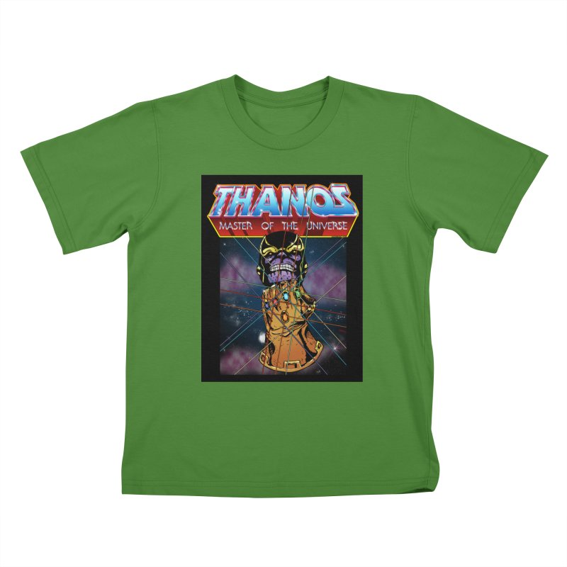 Thanos master of the universe Kids T-Shirt by doombxny's Artist Shop