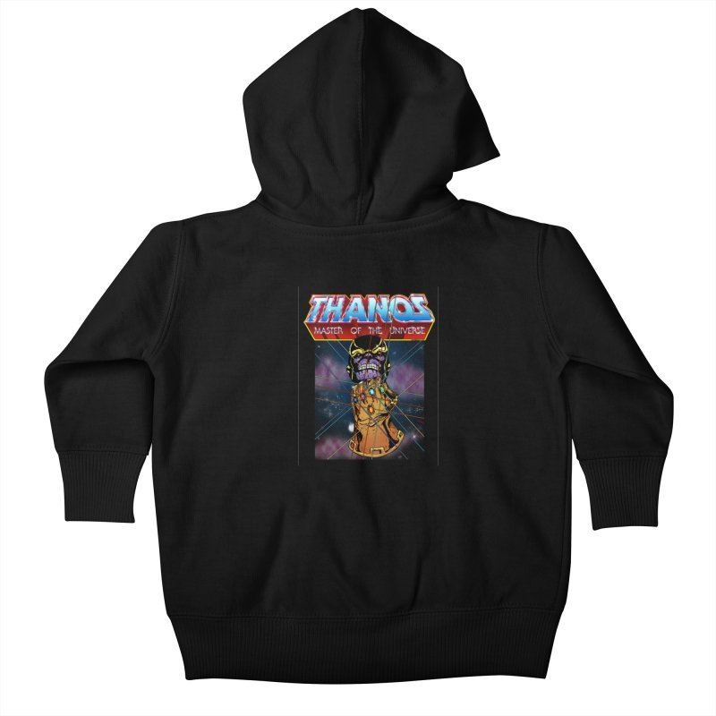 Thanos master of the universe Kids Baby Zip-Up Hoody by doombxny's Artist Shop