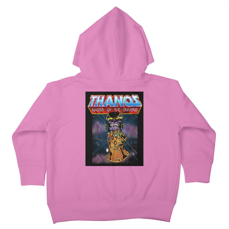 Thanos master of the universe Kids Toddler Zip-Up Hoody by doombxny's Artist Shop