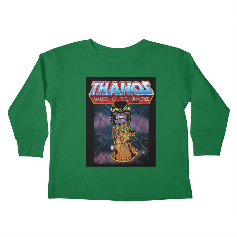 Thanos master of the universe Kids Toddler Longsleeve T-Shirt by doombxny's Artist Shop