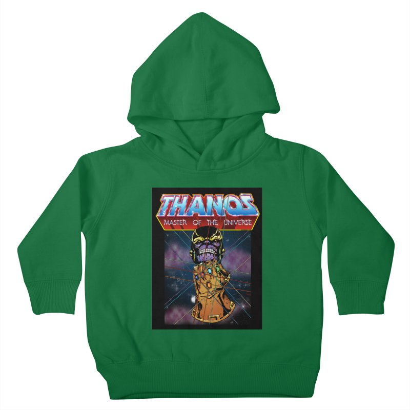 Thanos master of the universe Kids Toddler Pullover Hoody by doombxny's Artist Shop