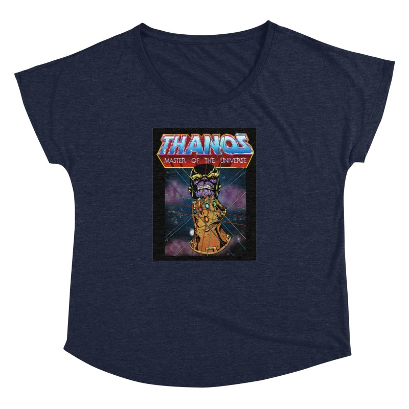Thanos master of the universe Women's Dolman Scoop Neck by doombxny's Artist Shop