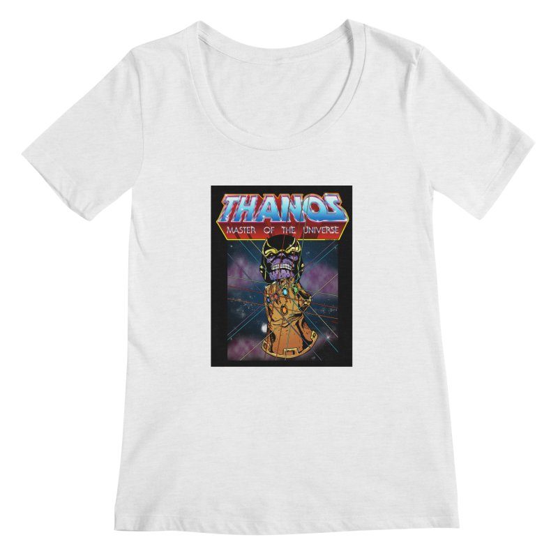 Thanos master of the universe Women's Regular Scoop Neck by doombxny's Artist Shop