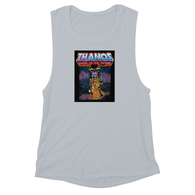 Thanos master of the universe Women's Muscle Tank by doombxny's Artist Shop