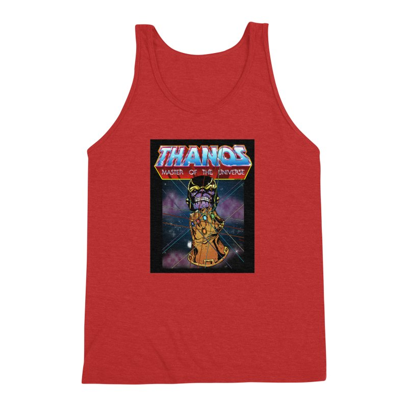 Thanos master of the universe Men's Triblend Tank by doombxny's Artist Shop