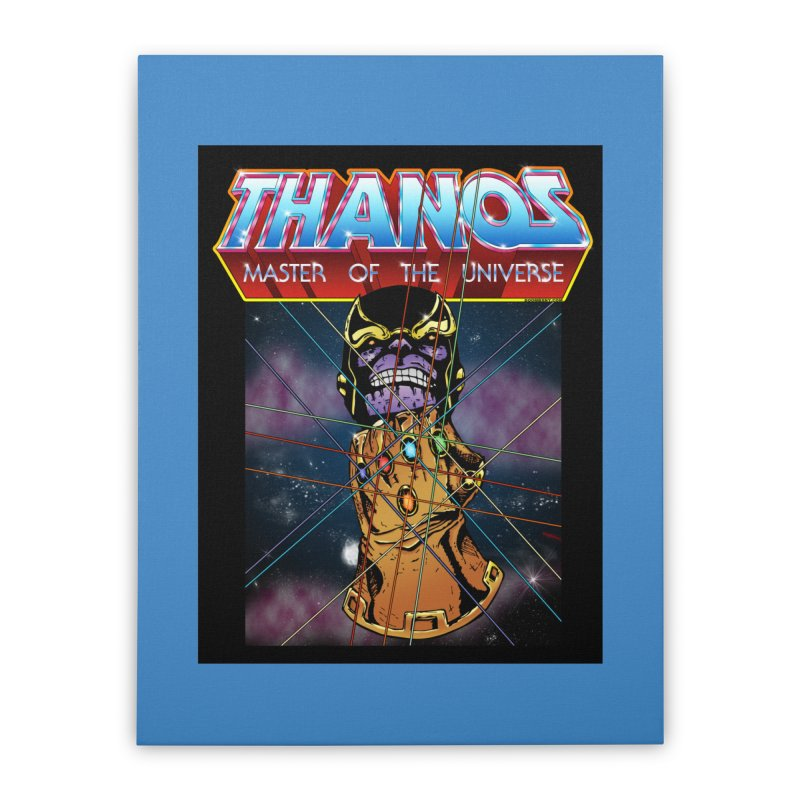 Thanos master of the universe Home Stretched Canvas by doombxny's Artist Shop