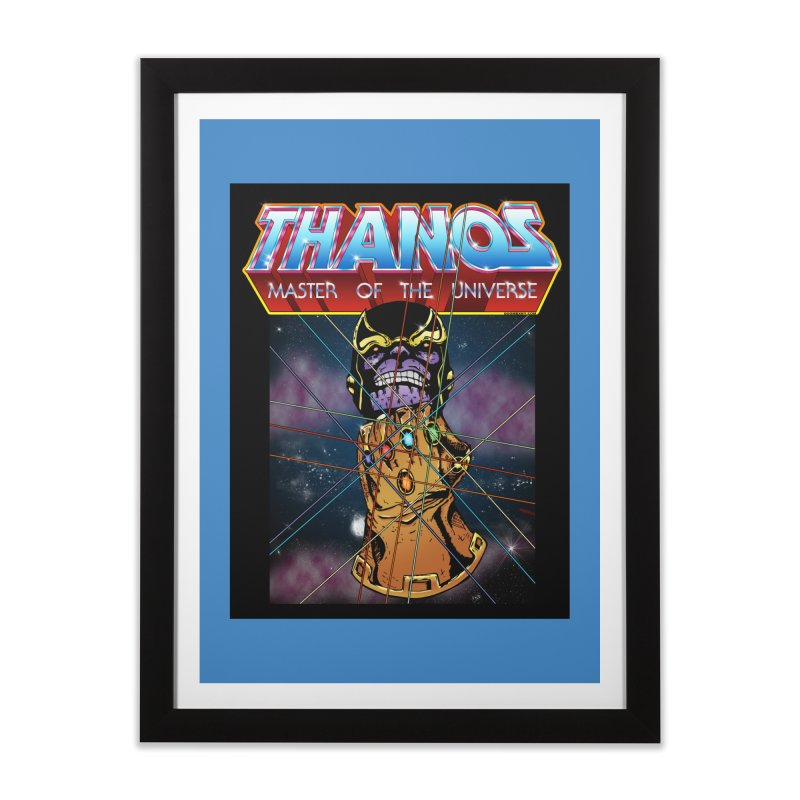 Thanos master of the universe Home Framed Fine Art Print by doombxny's Artist Shop