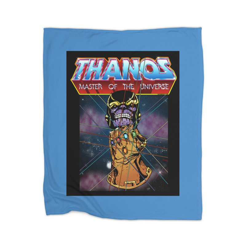 Thanos master of the universe Home Blanket by doombxny's Artist Shop