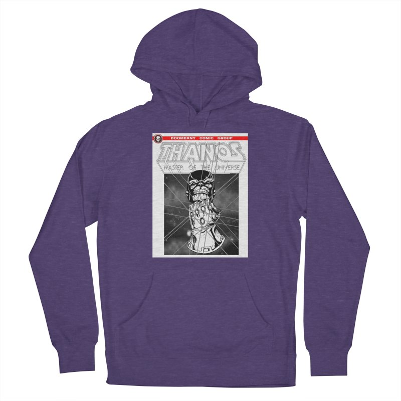 Thanos Master Of The Universe B&W Men's Pullover Hoody by doombxny's Artist Shop