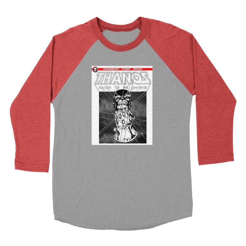 Thanos Master Of The Universe B&W Men's Longsleeve T-Shirt by doombxny's Artist Shop