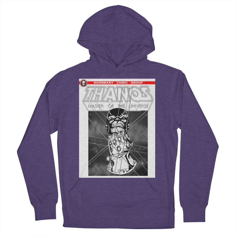 Thanos Master Of The Universe B&W Women's French Terry Pullover Hoody by doombxny's Artist Shop
