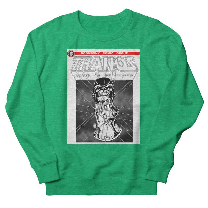 Thanos Master Of The Universe B&W Men's Sweatshirt by doombxny's Artist Shop