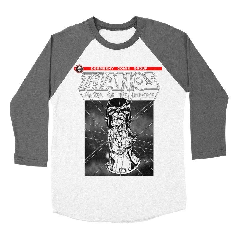 Thanos Master Of The Universe B&W Women's Baseball Triblend Longsleeve T-Shirt by doombxny's Artist Shop