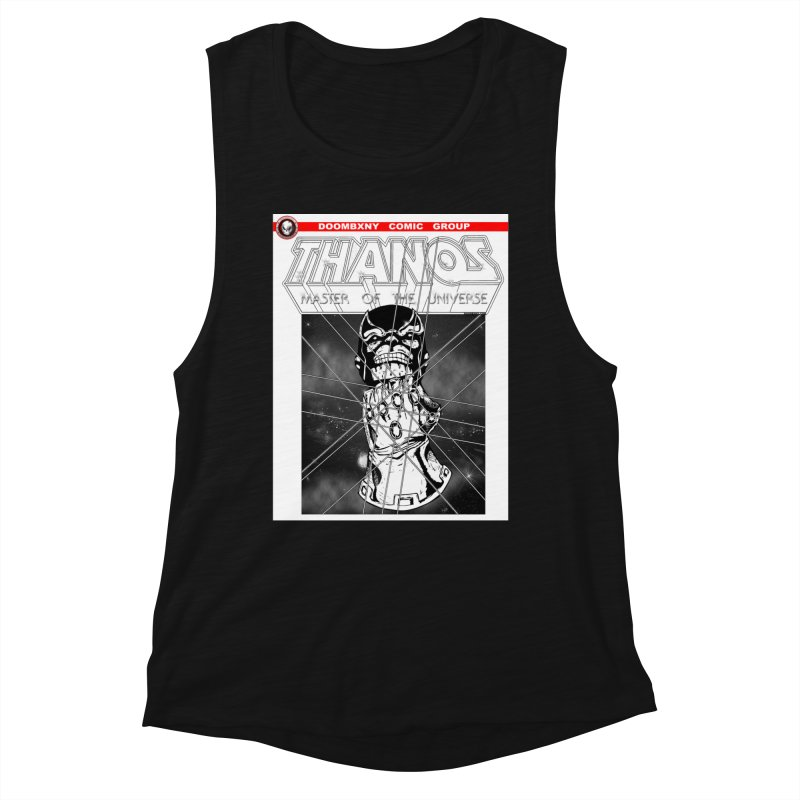 Thanos Master Of The Universe B&W Women's Tank by doombxny's Artist Shop