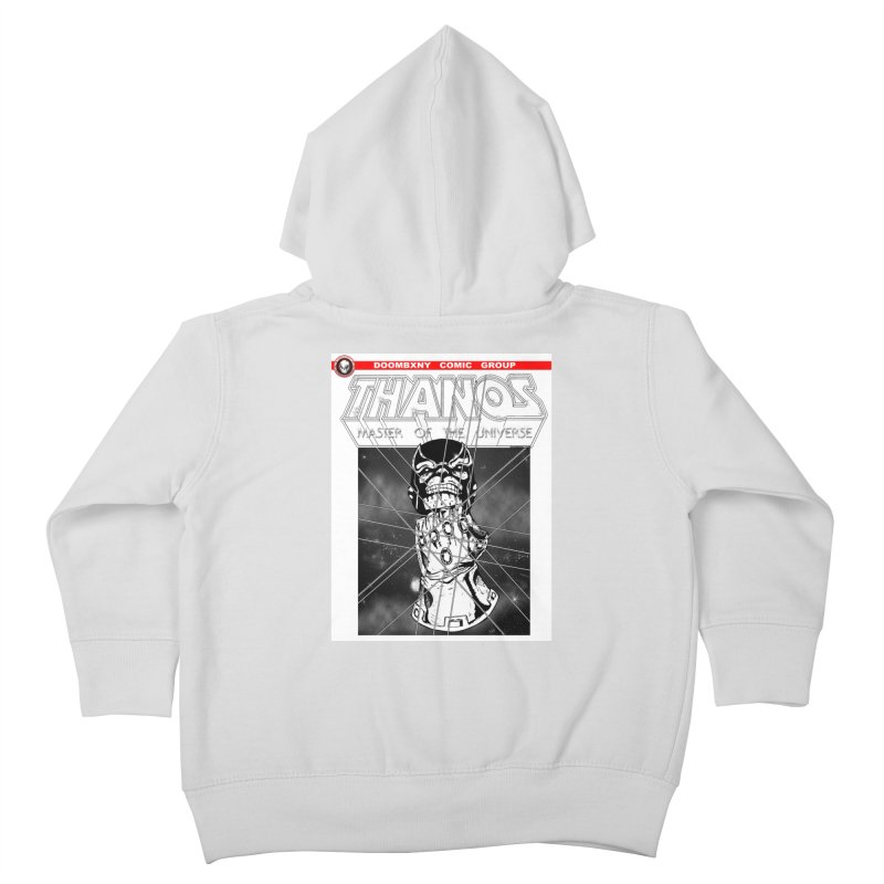Thanos Master Of The Universe B&W Kids Toddler Zip-Up Hoody by doombxny's Artist Shop