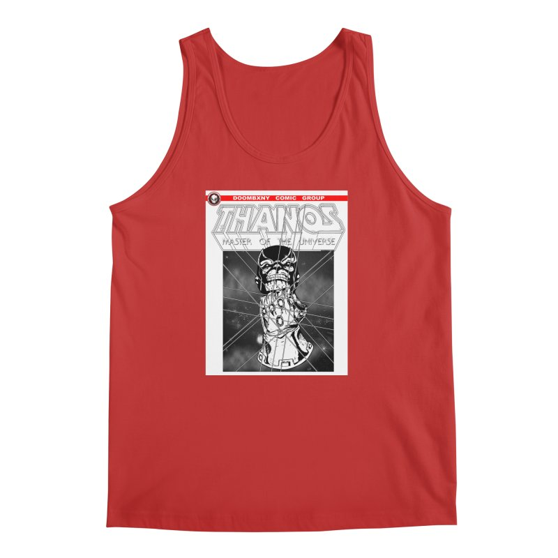 Thanos Master Of The Universe B&W Men's Tank by doombxny's Artist Shop