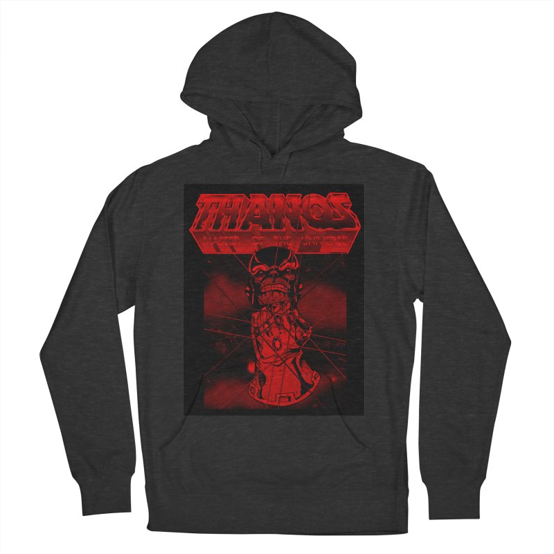 Thanos Master Of The Universe blood red version Women's French Terry Pullover Hoody by doombxny's Artist Shop