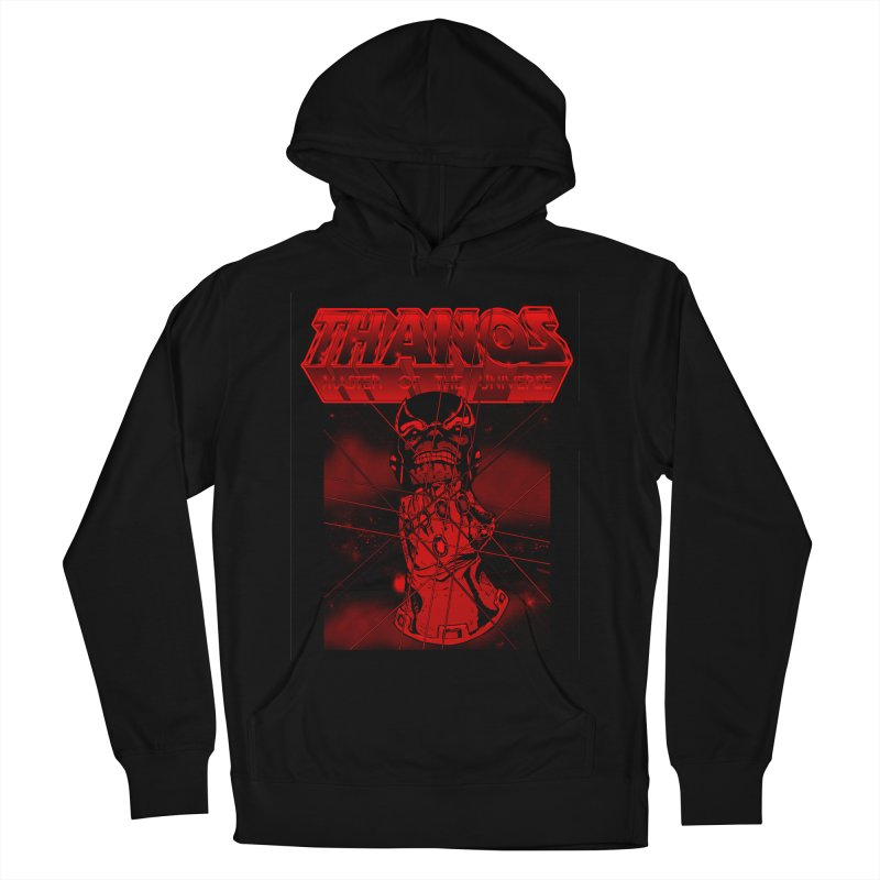 Thanos Master Of The Universe blood red version Men's French Terry Pullover Hoody by doombxny's Artist Shop
