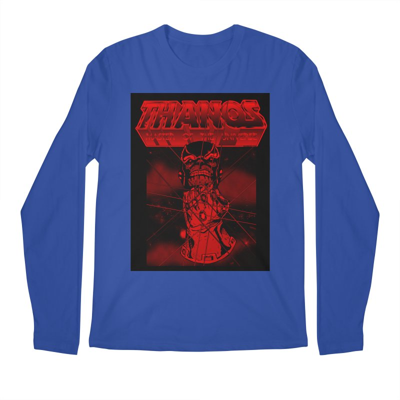 Thanos Master Of The Universe blood red version Men's Longsleeve T-Shirt by doombxny's Artist Shop