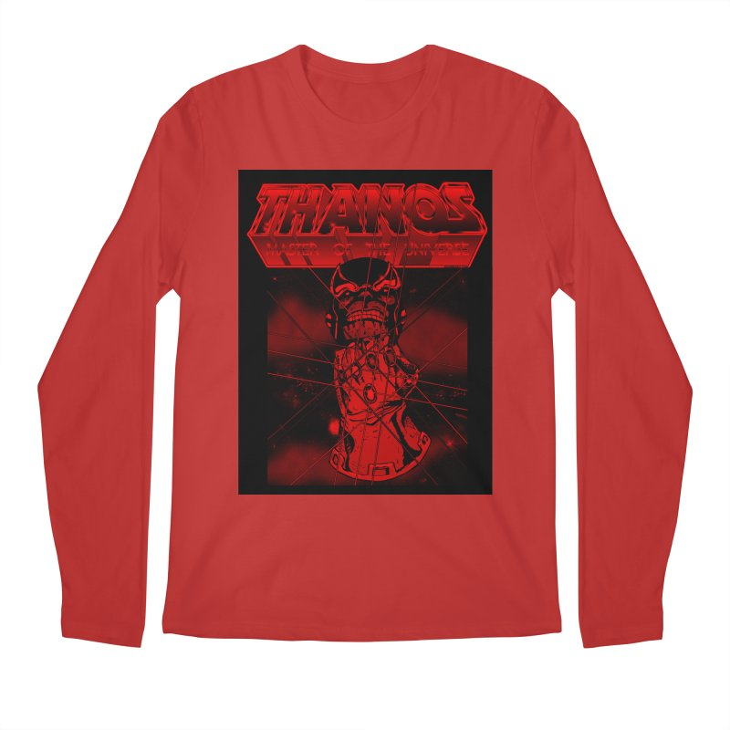 Thanos Master Of The Universe blood red version Men's Regular Longsleeve T-Shirt by doombxny's Artist Shop