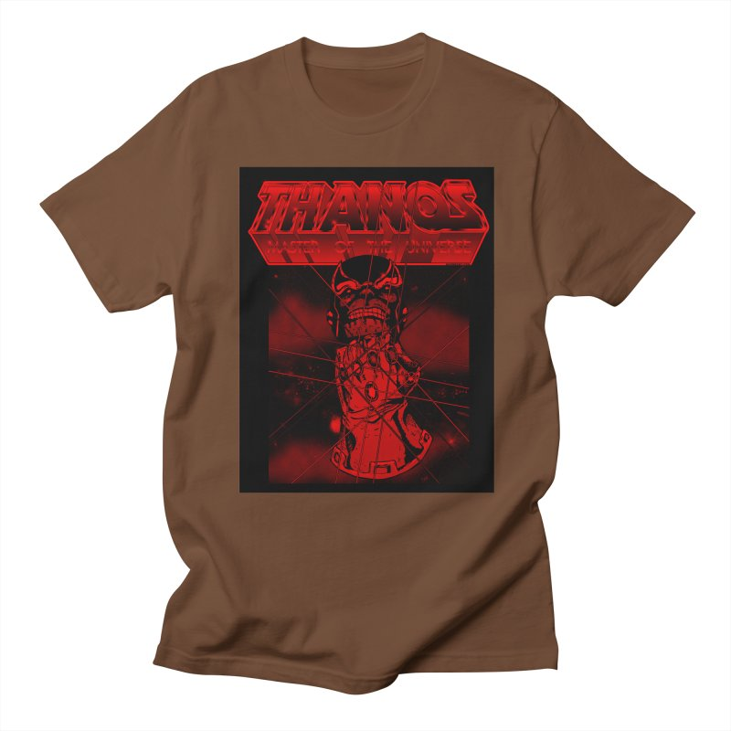Thanos Master Of The Universe blood red version Women's Regular Unisex T-Shirt by doombxny's Artist Shop