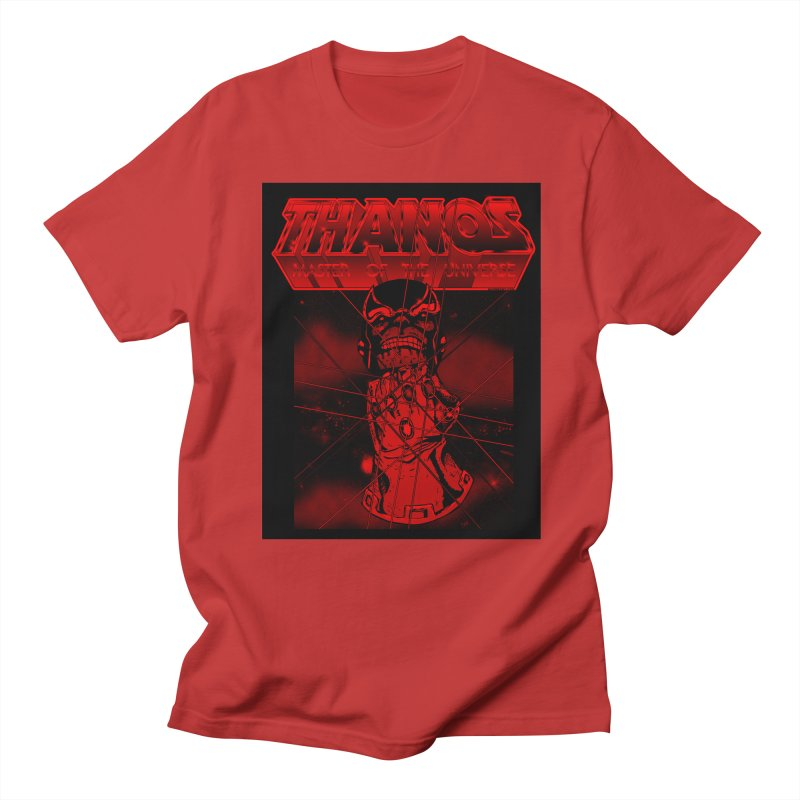 Thanos Master Of The Universe blood red version Men's Regular T-Shirt by doombxny's Artist Shop