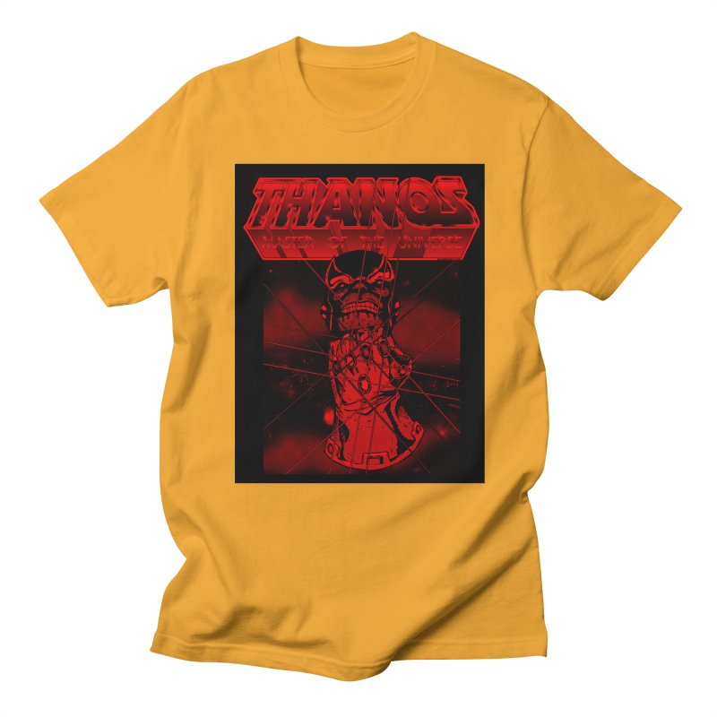 Thanos Master Of The Universe blood red version Men's T-Shirt by doombxny's Artist Shop