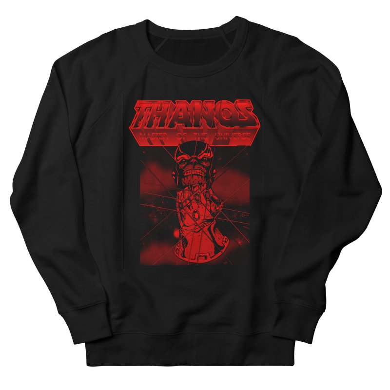 Thanos Master Of The Universe blood red version Men's French Terry Sweatshirt by doombxny's Artist Shop