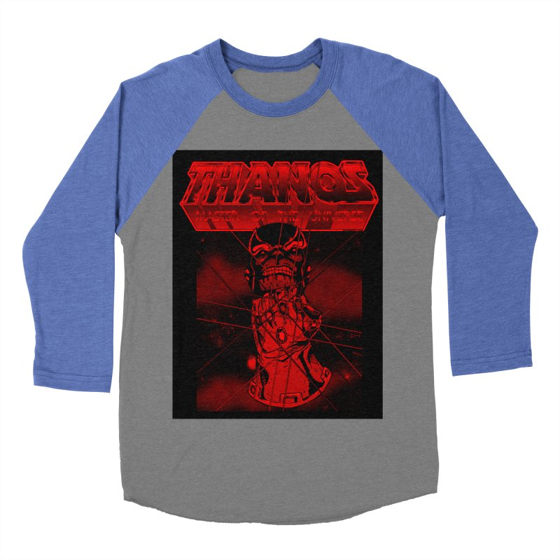 Thanos Master Of The Universe blood red version Men's Baseball Triblend Longsleeve T-Shirt by doombxny's Artist Shop
