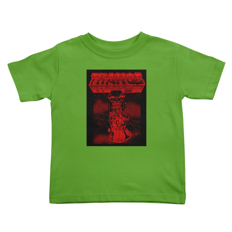 Thanos Master Of The Universe blood red version Kids Toddler T-Shirt by doombxny's Artist Shop