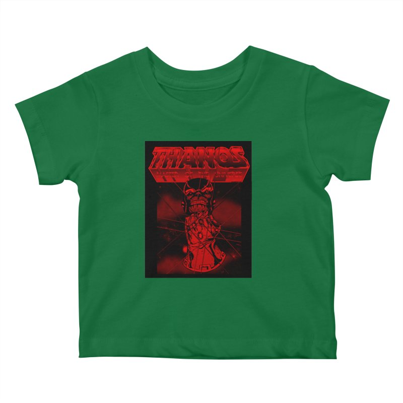 Thanos Master Of The Universe blood red version Kids Baby T-Shirt by doombxny's Artist Shop