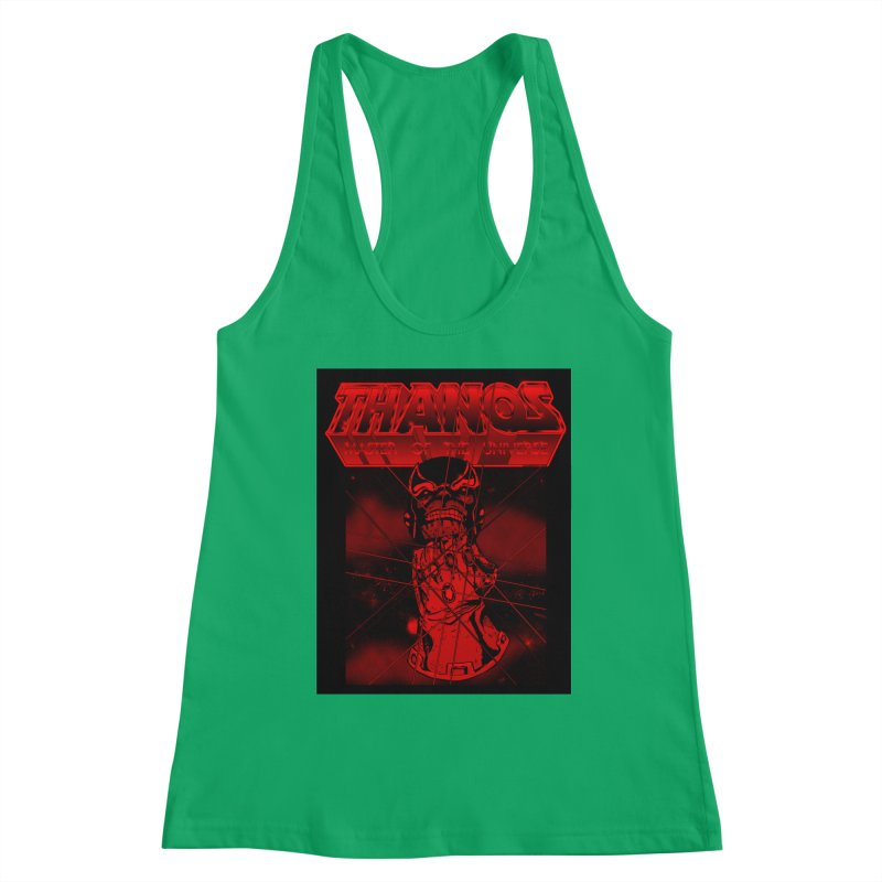 Thanos Master Of The Universe blood red version Women's Tank by doombxny's Artist Shop
