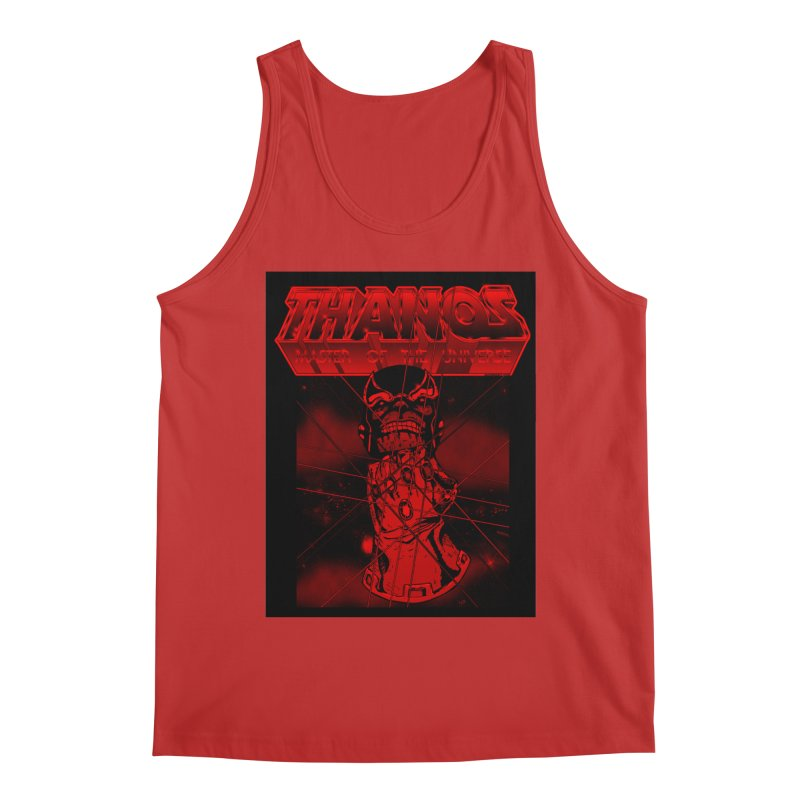 Thanos Master Of The Universe blood red version Men's Tank by doombxny's Artist Shop