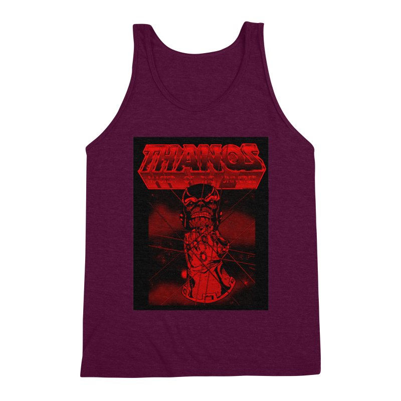 Thanos Master Of The Universe blood red version Men's Triblend Tank by doombxny's Artist Shop