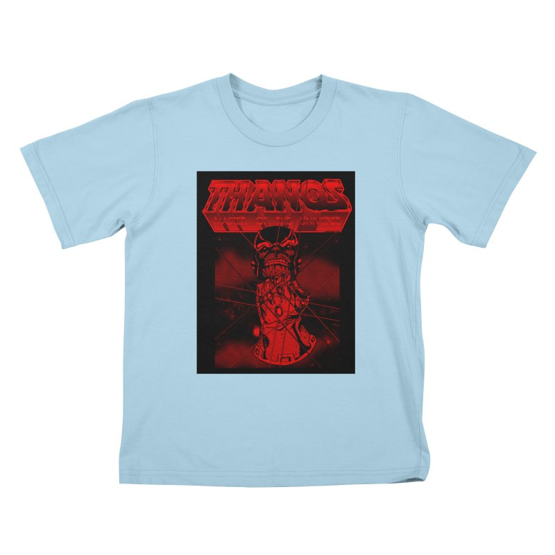 Thanos Master Of The Universe blood red version Kids T-Shirt by doombxny's Artist Shop
