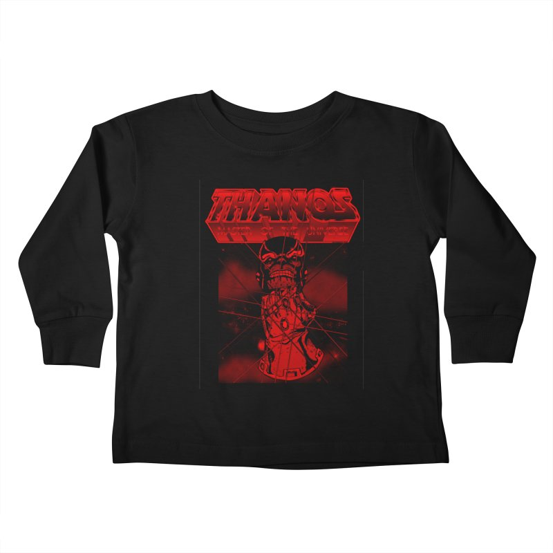 Thanos Master Of The Universe blood red version Kids Toddler Longsleeve T-Shirt by doombxny's Artist Shop