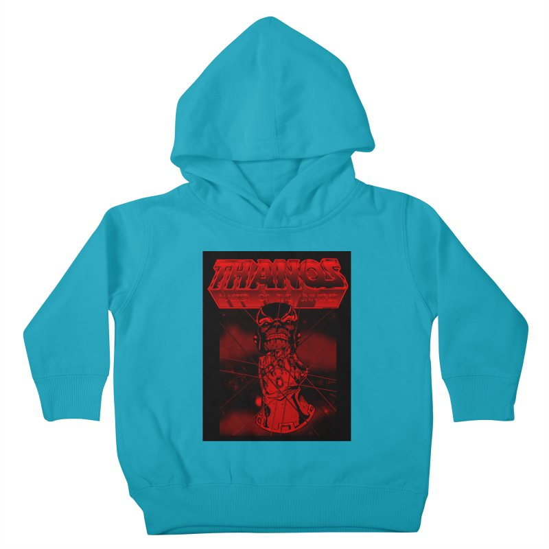 Thanos Master Of The Universe blood red version Kids Toddler Pullover Hoody by doombxny's Artist Shop
