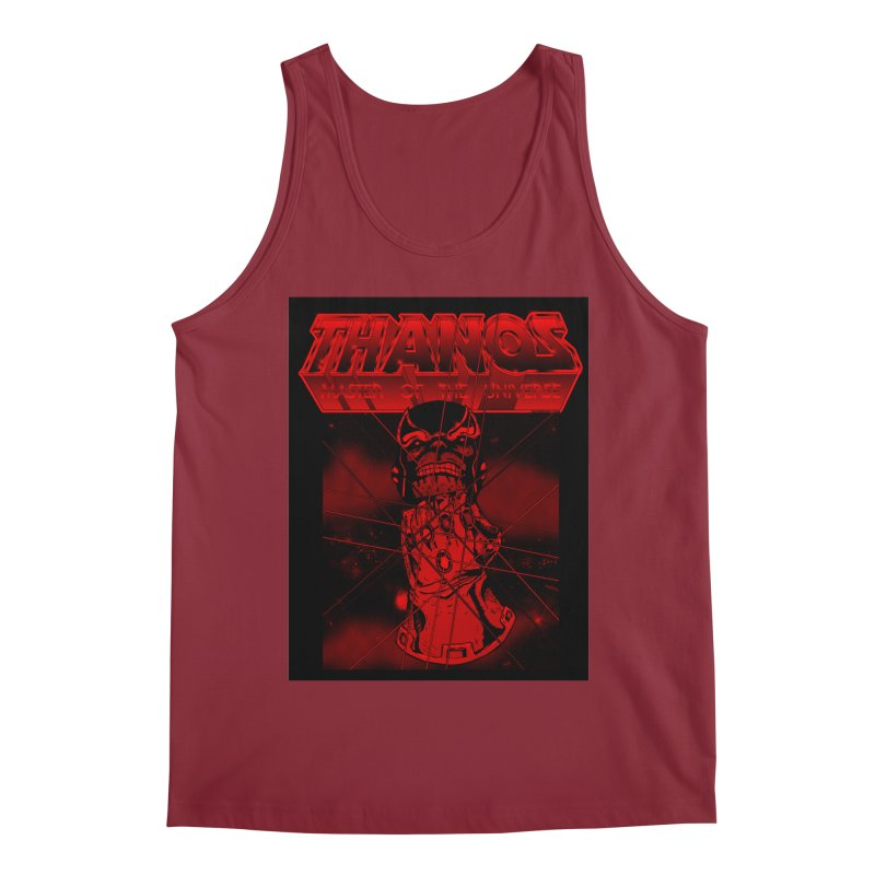 Thanos Master Of The Universe blood red version Men's Regular Tank by doombxny's Artist Shop