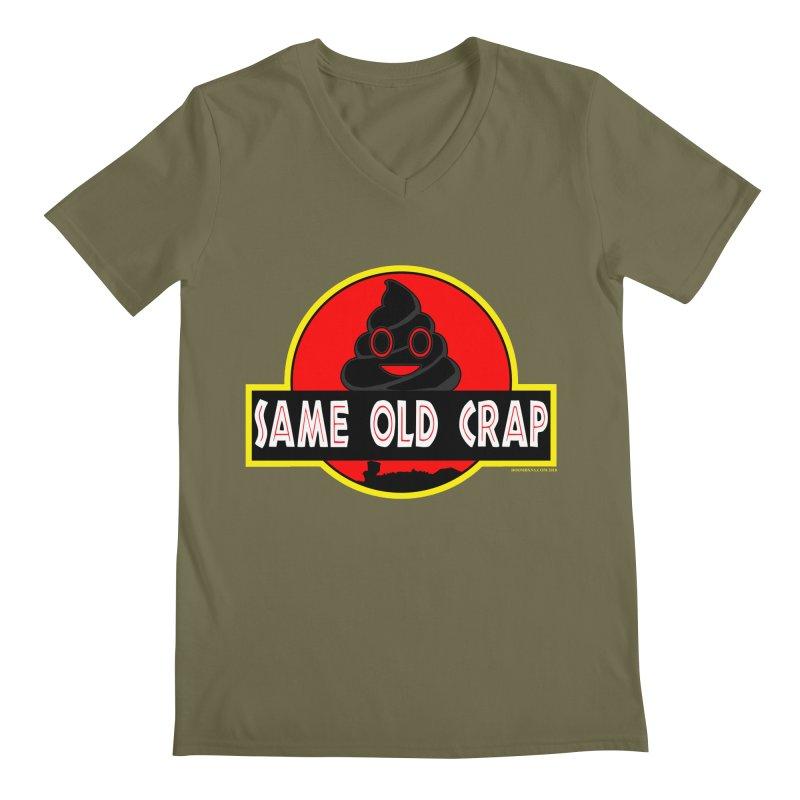 Same Old Crap Men's Regular V-Neck by doombxny's Artist Shop